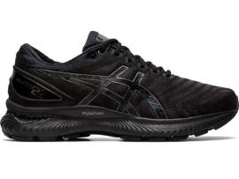 ASICS GEL Nimbus 22 Men's Running Shoes - BLACK / BLACK