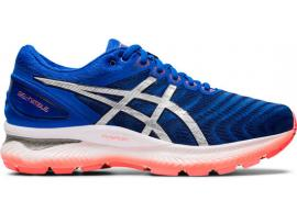 ASICS GEL Nimbus 22 Men's Running Shoes - TUNA BLUE / PURE SILVER