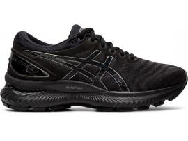 ASICS GEL Nimbus 22 Women's Running Shoes - BLACK / BLACK