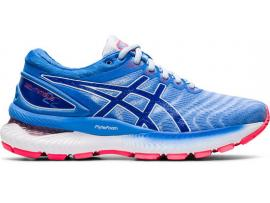 ASICS GEL Nimbus 22 Women's Running Shoes - SOFT SKY / TUNA BLUE
