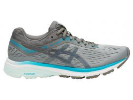 ASICS GT 1000 7 Women's Running Shoes - STONE GREY / CARBON