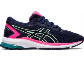 ASICS GT 1000 9 GS Girl's Running Shoes - PEACOAT / BLACK