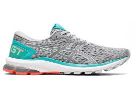 ASICS GT 1000 9 Women's Running Shoes - PIEDMONT GREY / BIO MINT