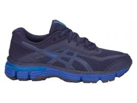 ASICS GT 2000 6 GS Boy's Running Shoes - PEACOAT / IMPERIAL