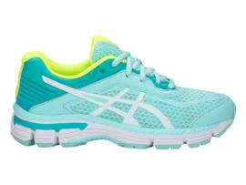 ASICS GT 2000 6 GS Girl's Running Shoes - ICY MORNING / WHITE