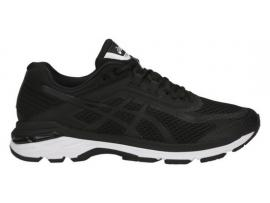 ASICS GT 2000 6 Men's Running Shoes - BLACK / WHITE / CARBON