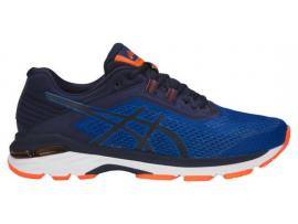 ASICS GT 2000 6 Men's Running Shoes - IMPERIAL / INDIGO BLUE / SHOCKING ORANGE