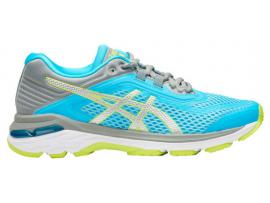 ASICS GT 2000 6 Women's Running Shoes - AQUARIUM / SILVER
