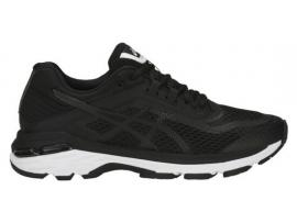 ASICS GT 2000 6 Women's Running Shoes - BLACK / WHITE / CARBON