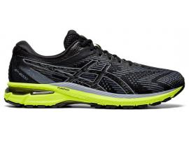 ASICS GT 2000 8 Men's Running Shoes - BLACK / CARRIER GREY
