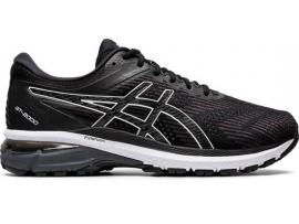 ASICS GT 2000 8 Men's Running Shoes - BLACK / WHITE