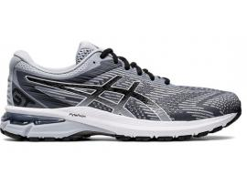 ASICS GT 2000 8 Men's Running Shoes - PIEDMONT GREY / BLACK (2E & 4E AVAILABLE)