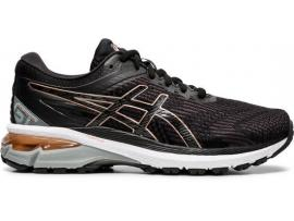 ASICS GT 2000 8 Women's Running Shoes - BLACK / ROSE GOLD