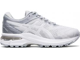 ASICS GT 2000 8 Women's Running Shoes - PIEDMONT GREY / WHITE