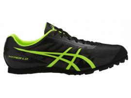 ASICS Hyper LD 5 Men's Athletics Shoes - BLACK / SAFETY YELLOW