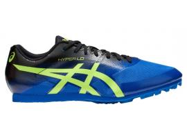 ASICS Hyper LD 6 Men's Athletics Shoes - ILLUSION BLUE / HAZARD GREEN