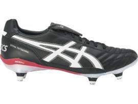 ASICS Lethal Testimonial 3 ST Football Boots - BLACK / WHITE / BLOOD