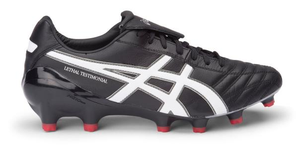 342b4e6a34ff ASICS Lethal Testimonial 4 IT Football Boots - BLACK / WHITE / SILVER