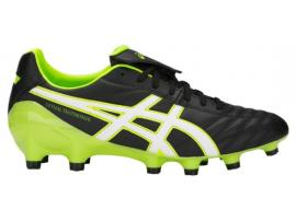 ASICS Lethal Testimonial 4 IT Football Boots - BLACK / HAZARD GREEN