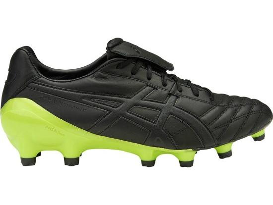 ASICS Lethal Testimonial 4 IT Football Boots - BLACK / ONYX / NEON LIME