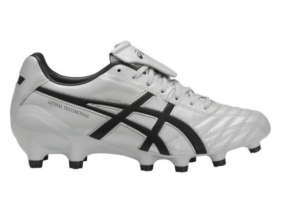 ASICS Lethal Testimonial 4 IT Football Boots - GLACIER GREY / BLACK / DARK GREY