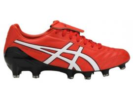 ASICS Lethal Testimonial 4 IT Football Boots - VERMILLION / WHITE / BLACK