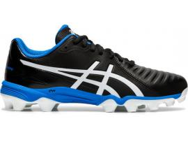 ASICS Lethal Ultimate GS Football Boots - BLACK / SILVER