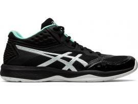 ASICS Netburner Ballistic FF MT Women's Netball Shoes - BLACK / PURE SILVER