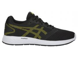 ASICS Patriot 10 GS - BLACK / LEMON SPARK