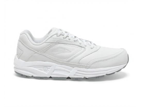 Brooks Addiction Walker Men's Walking Shoes - WHITE