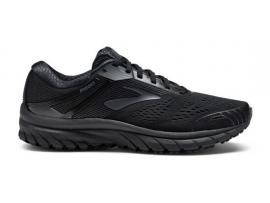 Brooks Adrenaline GTS 18 Men's Running Shoes - BLACK / BLACK