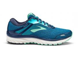 Brooks Adrenaline GTS 18 Women's Running Shoes - NAVY / TEAL / MINT