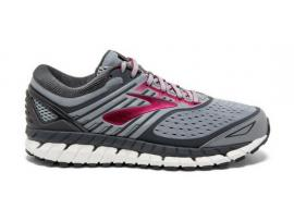 Brooks Ariel 18 Women's Running Shoes - GREY / GREY / PINK