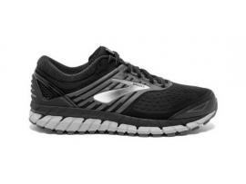 Brooks Beast 18 Men's Running Shoes - BLACK/SILVER/GREY