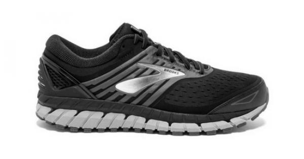 2e98a4ed798c9 Brooks Beast 18 Men s Running Shoes - BLACK SILVER GREY