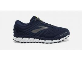 Brooks Beast 18 Men's Running Shoes - NAVY / GREY / WHITE