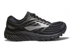 Brooks Glycerin 15 Men's Running Shoes - BLACK / WHITE