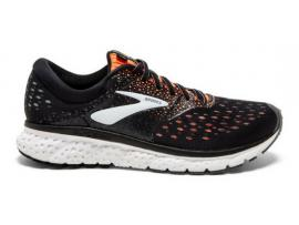 Brooks Glycerin 16 Men's Running Shoes - BLACK / ORANGE / GREY