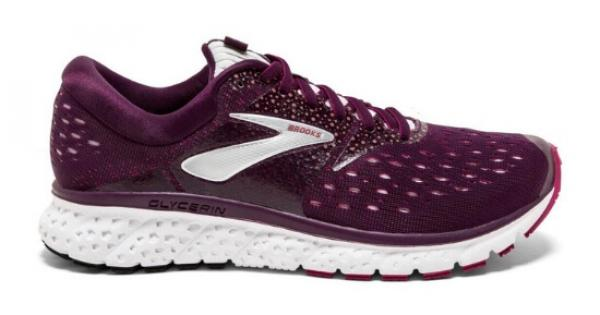 6f5459fcbba Brooks Glycerin 16 Women s Running Shoes - PURPLE   PINK   GREY