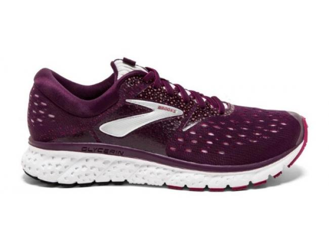 64bf00604d2 Brooks Glycerin 16 Women s Running Shoes - PURPLE   PINK   GREY
