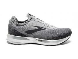 Brooks Levitate 2 Women's Running Shoes - GREY / EBONY / WHITE