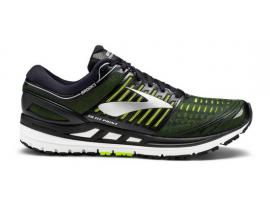 Brooks Transcend 5 Men's Running Shoes - BLACK / NIGHTLIFE / SILVER