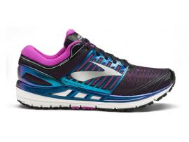 Brooks Transcend 5 Women's Running Shoes - BLACK / PURPLE / MULTI