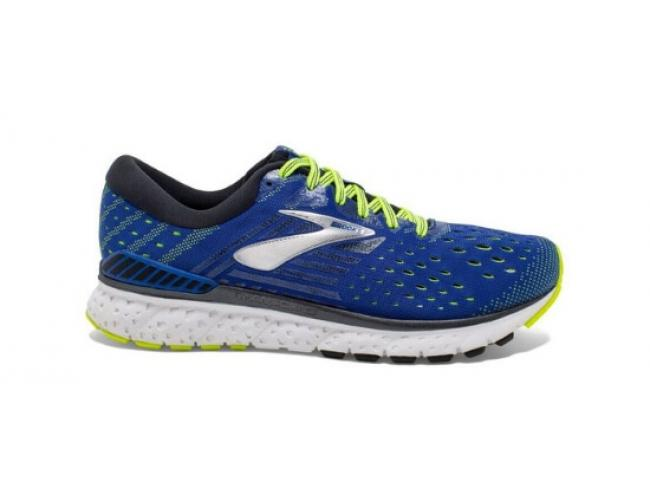aae65e00978 ... Men s Running Shoes - BLUE   BLACK   NIGHTLIFE · Brooks Transcend 6