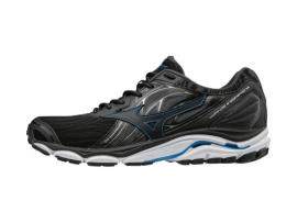 Mizuno Wave Inspire 14 Men's Running Shoes - BLACK / DIRECTOIRE BLUE