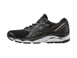 Mizuno Wave Inspire 14 Women's Running Shoes - BLACK / ROSE GOLD