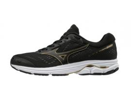 Mizuno Wave Rider 22 Men's Running Shoes - BLACK / GOLD