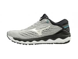 Mizuno Wave Sky 3 Men's Running Shoes - GLACIER GRAY / WHITE