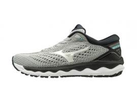 Mizuno Wave Sky 3 Women's Running Shoes - GLACIER GRAY / WHITE