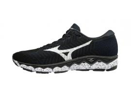 Mizuno WaveKnit S1 Women's Running Shoes - BLACK / WHITE